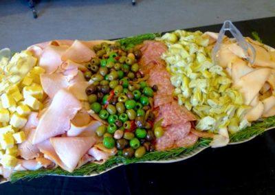 buffet deli platter