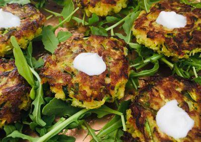 zucchini cake appetizer II